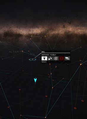 Elite: Dangerous' model of the Milky Way