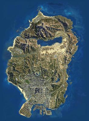 GTA 5's Game World